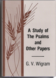 A Study of the Psalms and Other Papers_Wigram