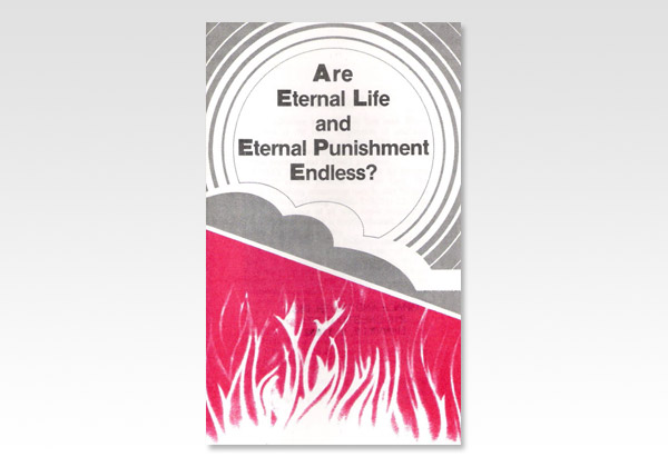 Are Eternal Life and Eternal Punishment Endless ECH 392