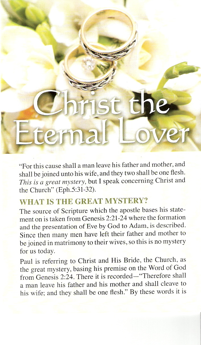 Christ the eternal cover
