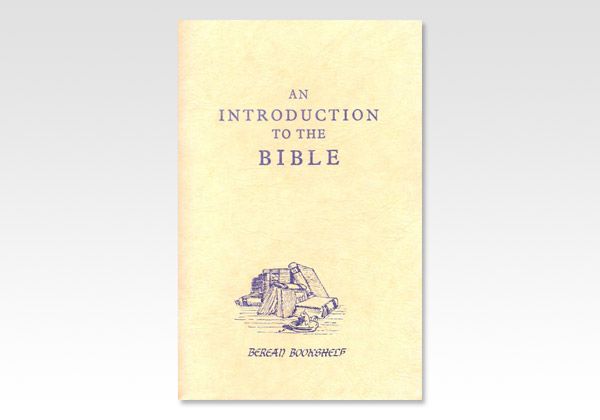 Introduction to the Bible JND 1050