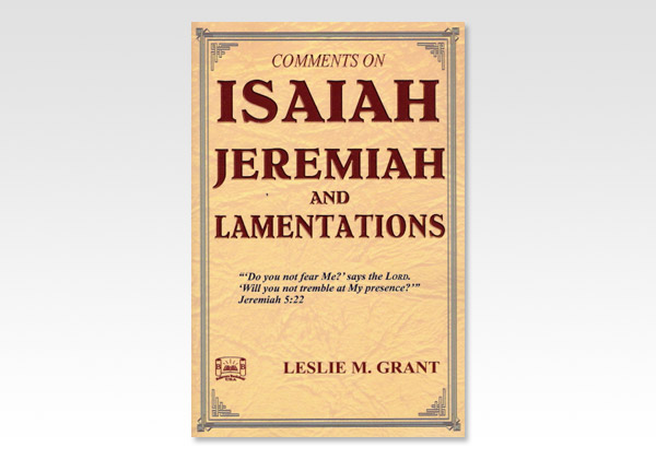 Isaiah Jeremiah and Lamentations 9535N