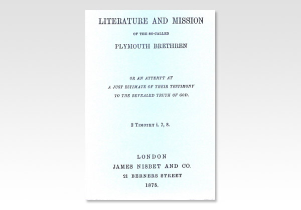 Literature and Mission of the SC PB
