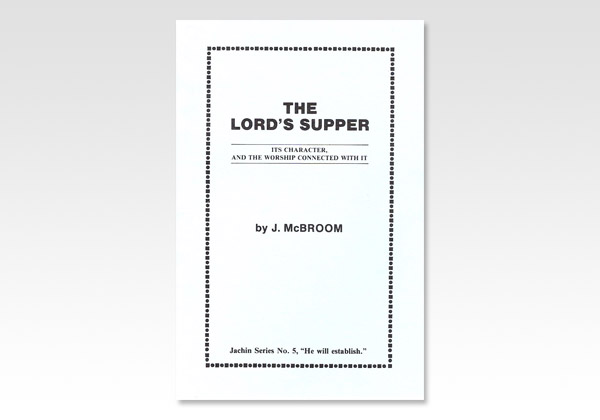 Lord s Supper JMcB