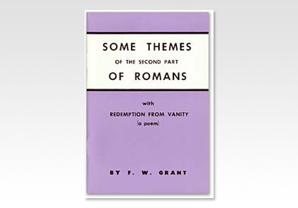 Romans Some Themes of