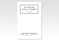 Assembly Acting in Discipline JND 695