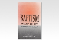 Baptism What is it RKC