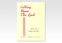 Calling upon the Lord CC 3313