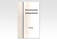 Ecclesiastical Independency JND 908