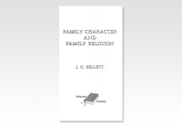 Family Character and Family Religion JGB 1146