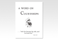 Word on Courtships GHH 2531