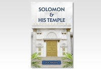 solomon and his temple